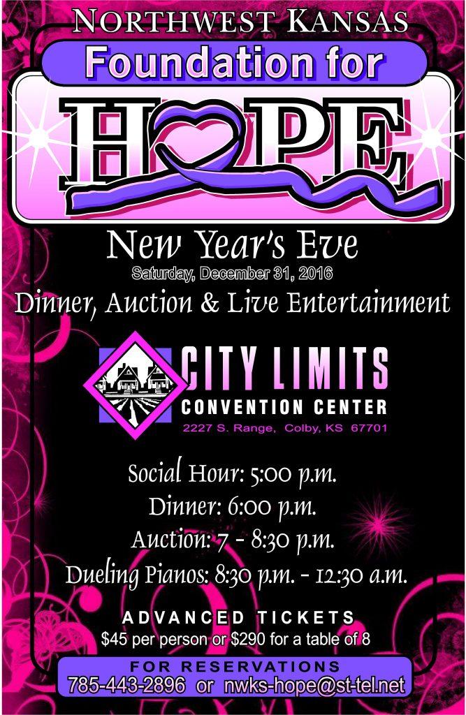 2016 HOPE Benefit